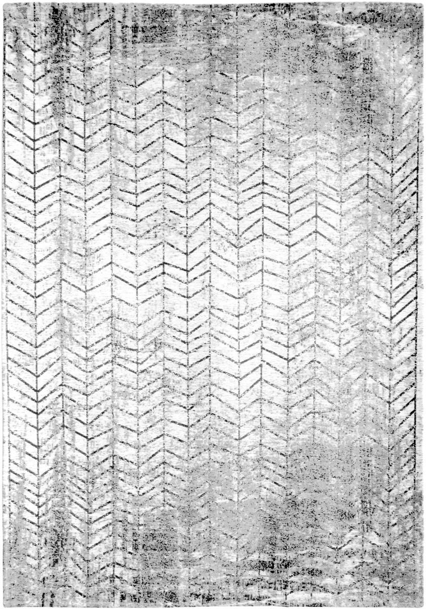 TEPPICH Jacobs Ladder Black on White 230x330 | Heimtextilien | White | Baumwolle | louis de poortere