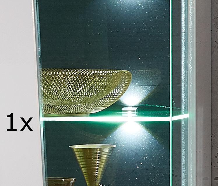 Beleuchtung für Glaskanten