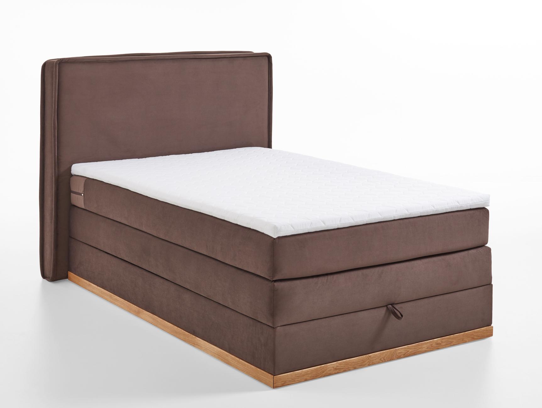 Boxspringbett Nr.1901 120x200 mit Bettkasten