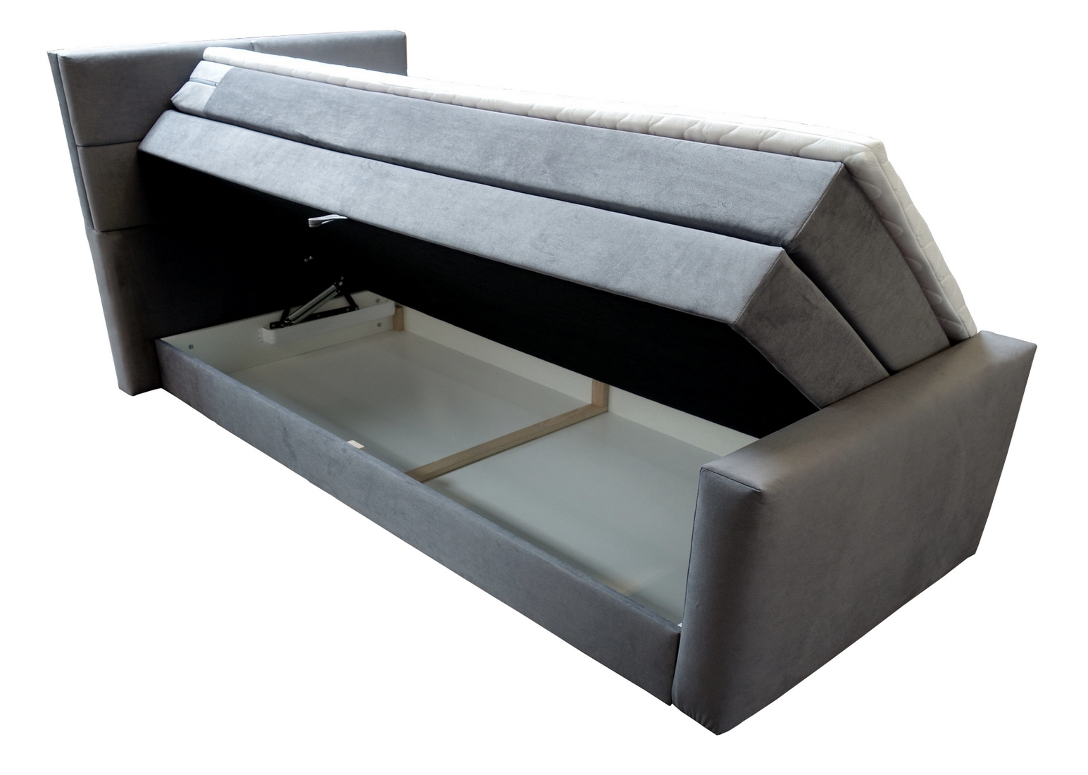Boxspringbett mit Bettkasten 120x200 Nr.1902