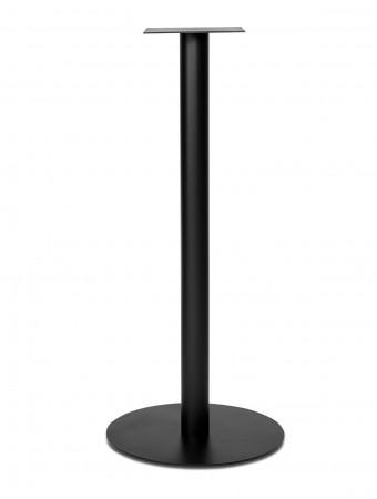 Stehtischgestell aus Stahl schwarz 106 cm hoch rund NAPOLI