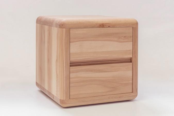 verona nachtkommode kernbuche buche massiv ge lt kaufen m bel shop empinio24. Black Bedroom Furniture Sets. Home Design Ideas