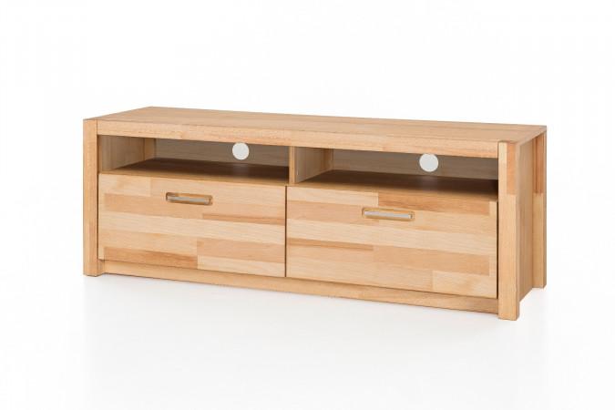 faro tv lowboard 2 sk kernbuche massiv kaufen m bel shop empinio24. Black Bedroom Furniture Sets. Home Design Ideas