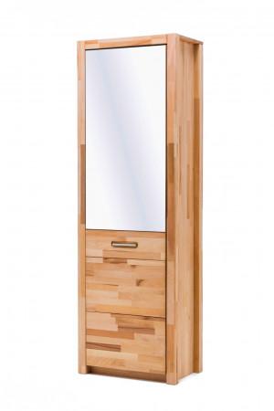 FARO Garderobenschrank 1-trg. Kernbuche massiv