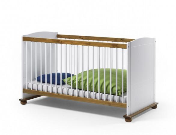 Babyzimmer 'Fiore' Kinderbett umbaufähig zum Juniorbett