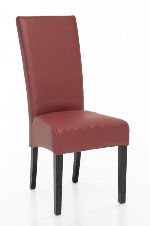 Esszimmerstuhl aus Kunstleder Beine aus Buche oder Eiche Farben wählbar KENZO