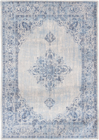 TEPPICH Fairfield Blue Border