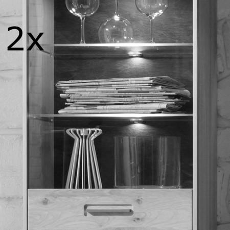 BELEUCHTUNG von MCA LED Glasbodenbeleuchtung 2-er inkl Trafo und Zuleitung