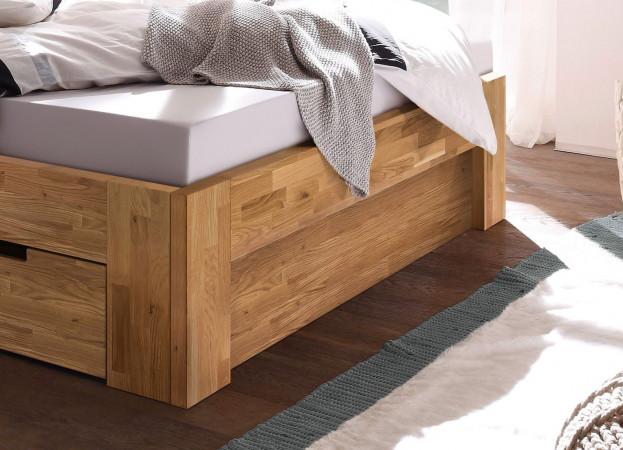 LENA-2 Fußteilblende passend zun den Betten Lena-2 Wildeiche massiv