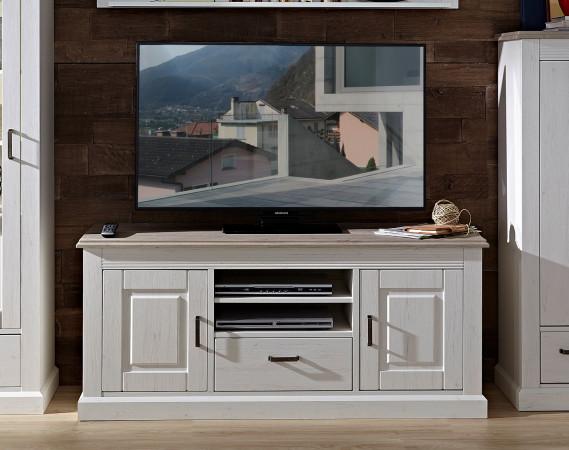 Lima Tv Lowboard 150 Cm 2 Trg Pinie Weiß Taupe Kaufen Möbel Shop