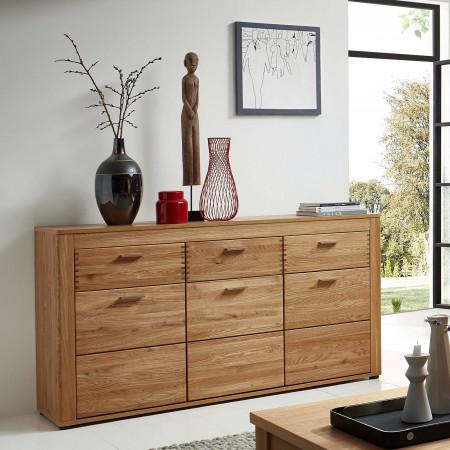 OPAL Sideboard 3-trg Wildeiche teilmassiv kaufen   Möbel Shop Empinio24