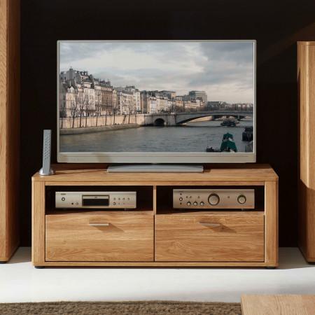 OPAL TV-Lowboard 2-Sk Wildeiche teilmassiv