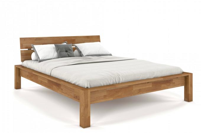 Doppelbett mit Kopfteil Liegefläche 180x200 massive Eiche Siena