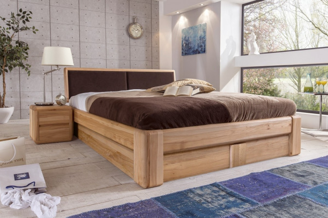 180x200 cheap bed frame vedde x wild oak with 180x200 for Bett komplett 180x200