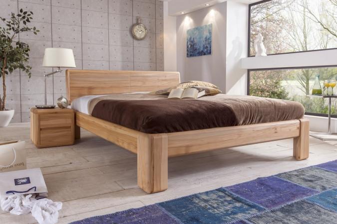 verona bett 160x200 kernbuche massiv ge lt kaufen m bel shop empinio24. Black Bedroom Furniture Sets. Home Design Ideas