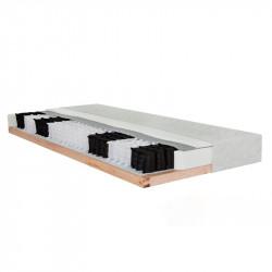 ESTER 7-Zonen Taschenfederkern-Matratze 100x200 Höhe 17,5 cm in H3