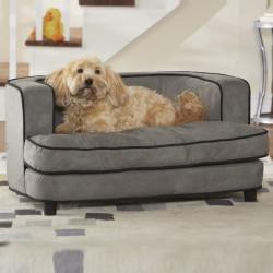 KAHU Hundebett Katzenbett Grey mit Kissen und Tasche - KaHu Pet Furniture