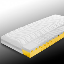 CAPRIO 7-Zonen Kaltschaum Matratze, Höhe 20 cm in H2 oder H3