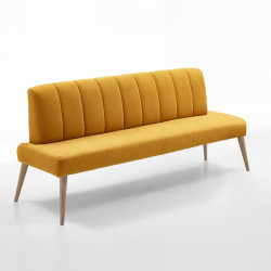 MALMÖ Sitzbank 182 cm in Stoff / Textil (A) Farbe wählbar