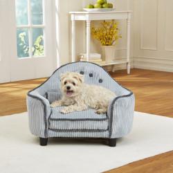 KAHU Hundebett Katzenbett blau mit Kissen und Tasche - KaHu Pet Furniture