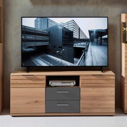 ACHAT TV-Lowboard 2-trg 1-Sk Wildeiche BIANCO teilmassiv