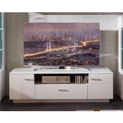 ALIBABA TV-Lowboard 160 cm 2-trg weiß hochglanz