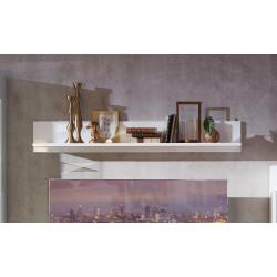 ALIBABA Wandboard 150 cm weiß hochglanz