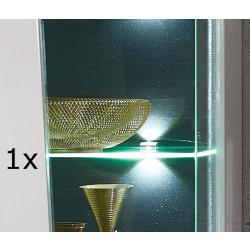 BELEUCHTUNG 1er Set LED Clip Zeta 3S Glaskantenbeleuchtung