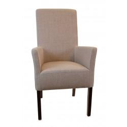 ANATOL XL Sessel Armlehnstuhl Stoff / Textil Beine aus Buche oder Eiche