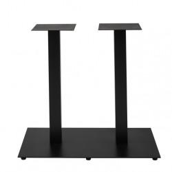 NIZZA Gastro Doppel-Tischgestell 80x48 rechteckig 72 cm Höhe