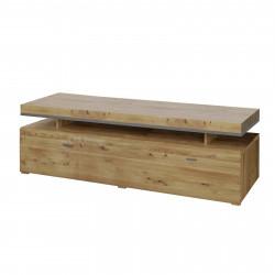 BASEL TV- Lowboard 140 cm 1-Sk Alteiche teilmassiv
