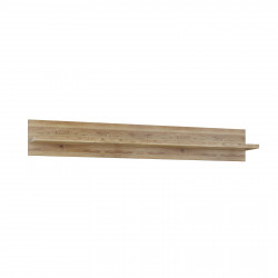 BASEL Wandboard 122 cm Hängeregal Alteiche teilmassiv
