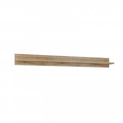 BASEL Wandboard 180 cm Hängeregal Alteiche teilmassiv