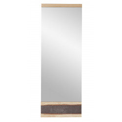 CRUSTY Spiegel 42x117 cm Wildeiche teilmassiv