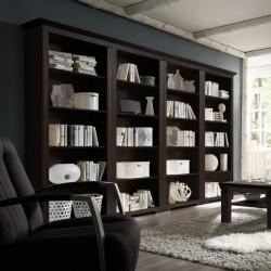 CORDOBA 4x Bücherregale Kiefer massiv kolonial lackiert