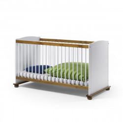 FIORE Kinderbett 70x140 Bett Kiefer massiv weiss