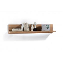 Wandboard Eiche bianco 124 cm furniert Espero