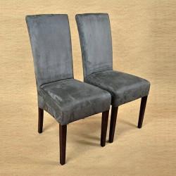 KENZO Polsterstuhl Stoff / Textil Beine aus Buche oder Eiche