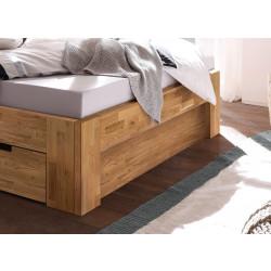 Fußteilblende passend zu den Betten Lena-2 Wildeiche massiv geölt