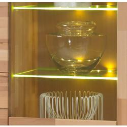 LED Glasboden Beleuchtung mit Farbwechsellicht 4-er Set mit Trafo