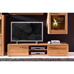 TV-Lowboard aus Kernbuche teilmassiv Breite 190 cm NOVARA