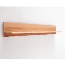 Wandboard Kernbuche teilmassiv 179 cm Sena von MCA Furniture
