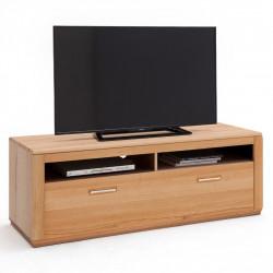 SENA TV-Lowboard 154 cm Kernbuche geölt mit Kabelmanagement