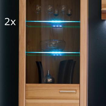 BELEUCHTUNG von MCA LED Glaskantenbeleuchtung 2-er inkl Trafo und Zuleitung