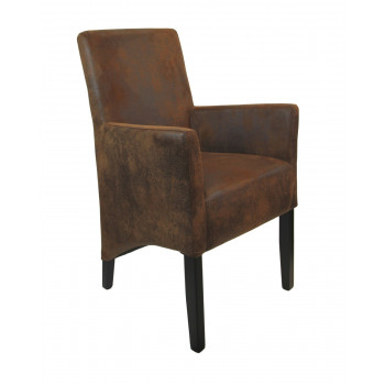 ANATOL SMALL Armlehnstuhl Stoff / Textil Farbe wählbar