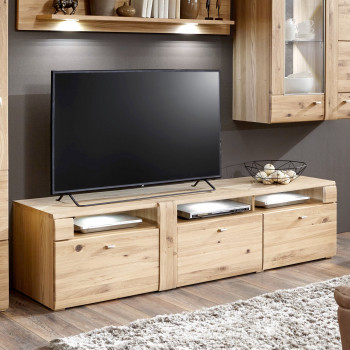 AUXERRE TV- Lowboard 191 cm 3-Sk Alteiche teilmassiv