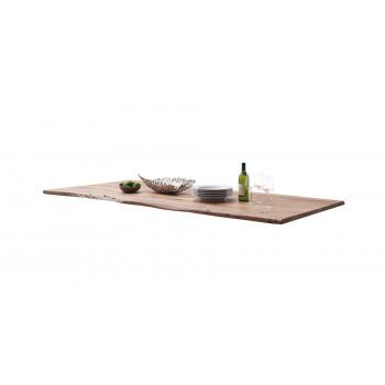 CALVERA Tischplatte 160x90 2,5 cm Akazie natur lackiert