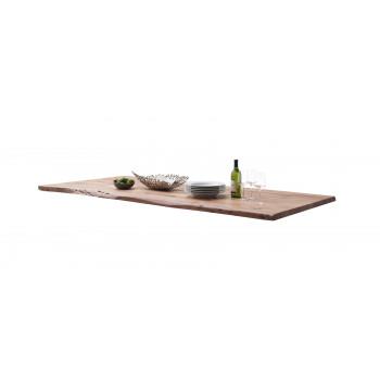 CALVERA Tischplatte 200x100 3 cm Akazie natur lackiert