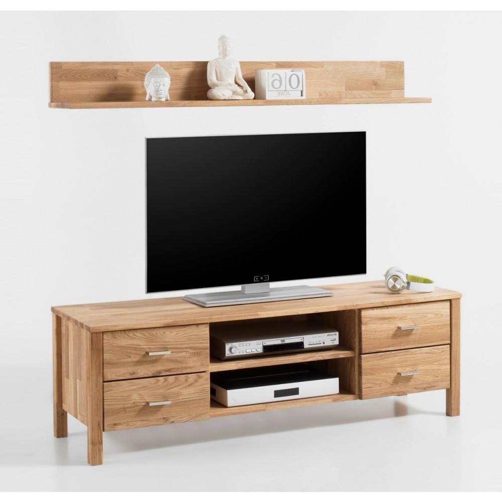 lyon tv lowboard wandboard set eiche wildeiche massiv ge lt kaufen m bel shop empinio24. Black Bedroom Furniture Sets. Home Design Ideas