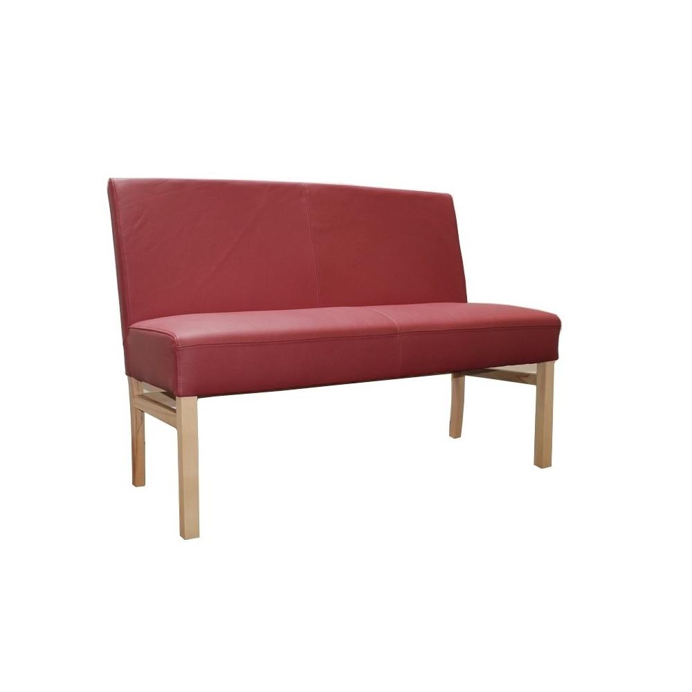 sophie sitzbank 120 cm in echtleder farbe w hlbar kaufen m bel shop empinio24. Black Bedroom Furniture Sets. Home Design Ideas
